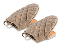 Chef Кухонные рукавички с силиконовыми вставками