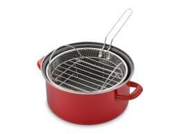 Кастрюля Cook-n-Bake с корзинкой для жарки и решеткой