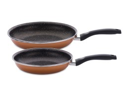 Набор сковородок (20 + 24 см) Stone Legend CopperLUX
