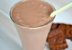 Шоколадно-ореховый коктейль