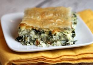 Пирог с мясом греческий
