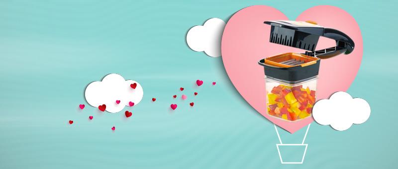 Набор для быстрого нарезания Найсер Дайсер - готовьте с любовью!