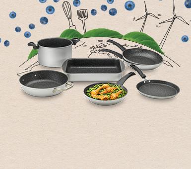 Линейка экологической посуды Green Planet!