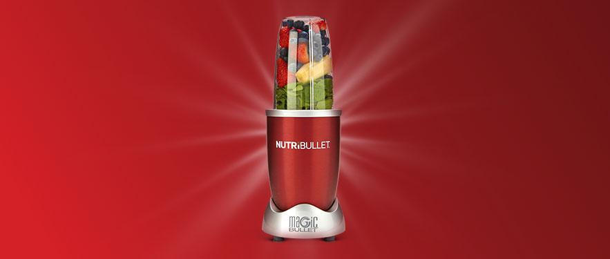 Красный NutriBullet 600 - экономия удвоена!